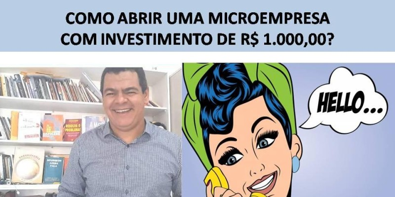 10 ideias para abrir uma microempresa com menos de mil reais