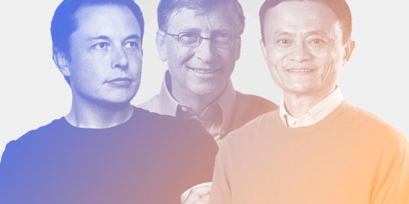 Os hábitos de Bill Gates, Elon Musk e Jack Ma
